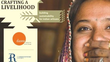 A new publicatio​n sponsored by the Edmond de Rothschild Foundation​s: Crafting a Livelihood in India