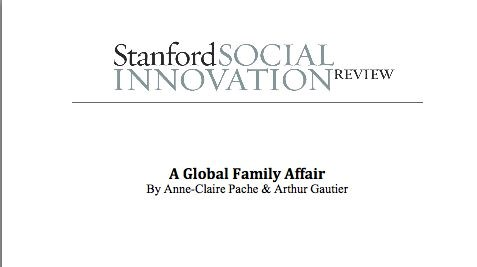 Les Fondations Edmond de Rothschild in the Standford Social Innovation Review